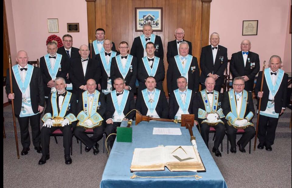 Installation of Royal Masonic Lodge No 28