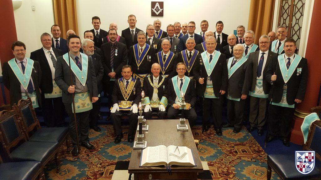 Distinguished Brethren Visit