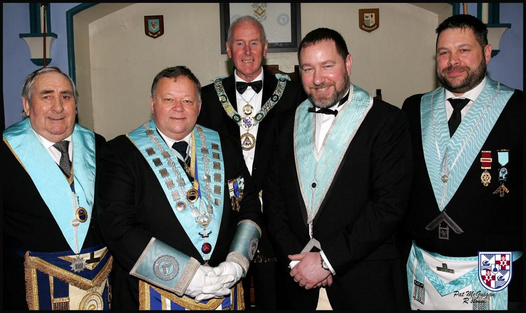 Visitors from the United Grand Lodge of England