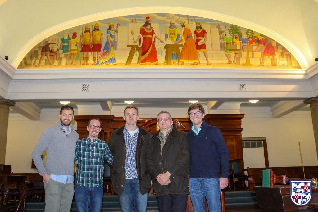 American Brethren Visit Rosemary Street
