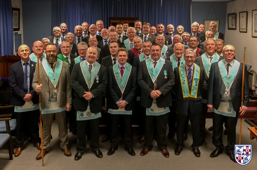 100th WM of Harmony Masonic Lodge 428 – Ballymena