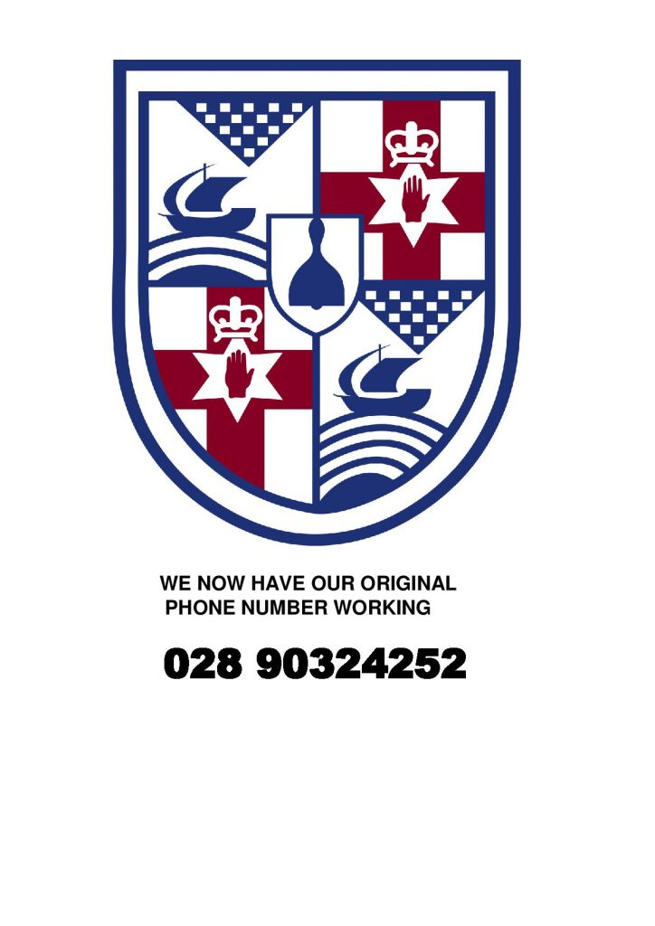 The Original Telephone number 028 90324252 is now working