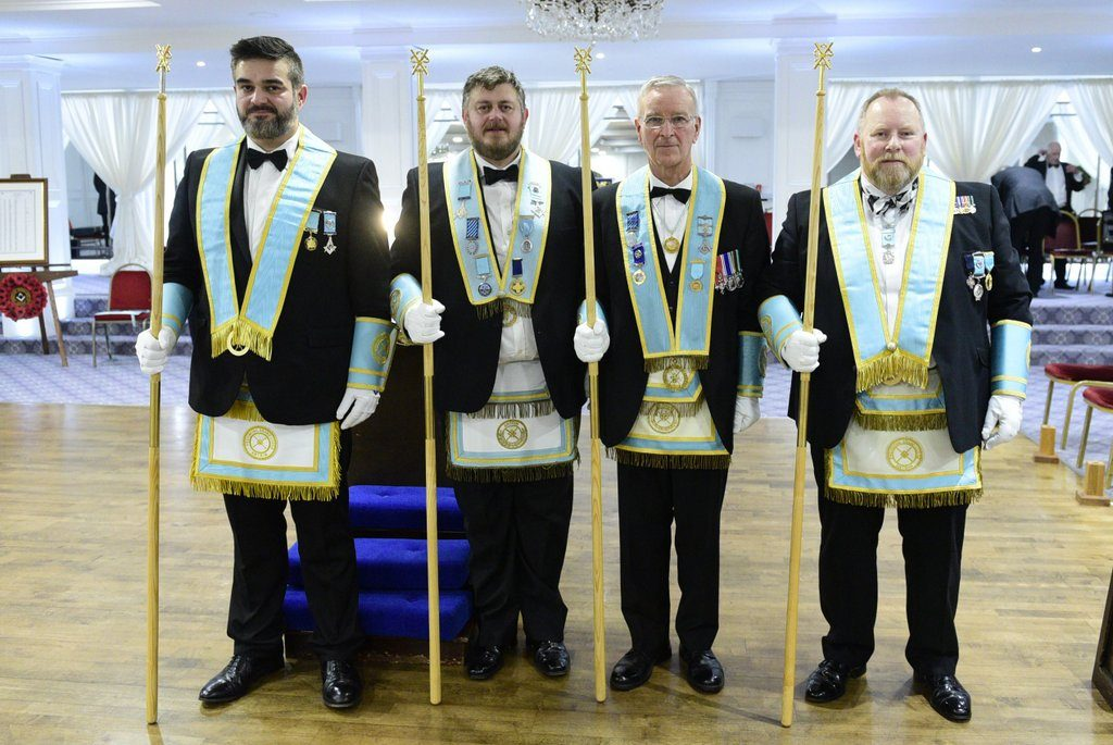 New Provincial Grand Lodge Officers installed