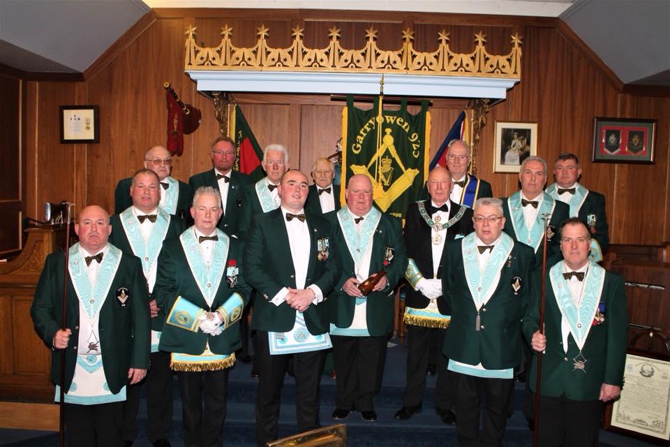 Installation of Officers Garryowen Masonic Lodge 923